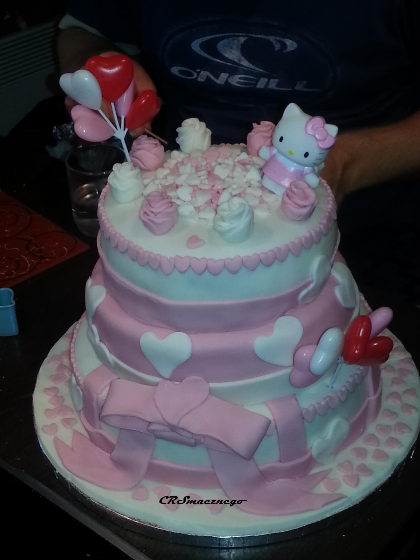 Wedding cake Hello Kitty speculoos